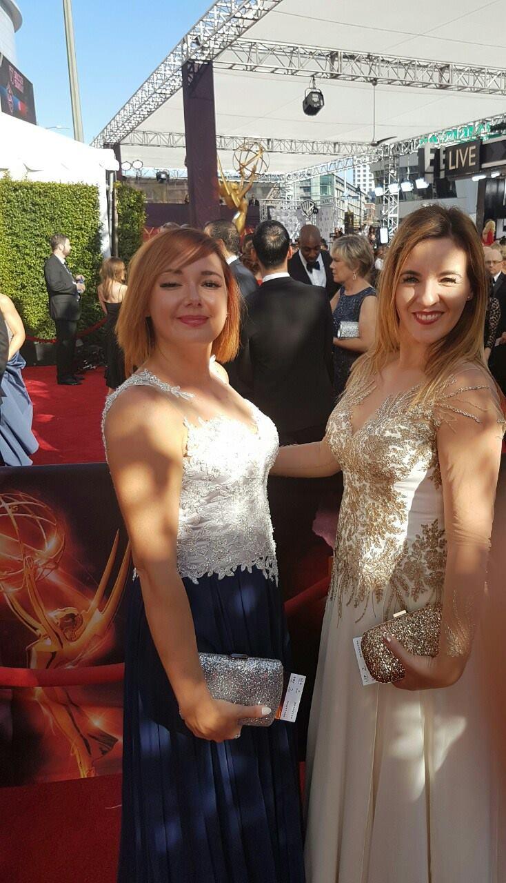 Karolina i Sabina- Emmy 2016 2