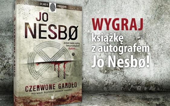 Wygraj książkę z autografem Jo Nesbo!