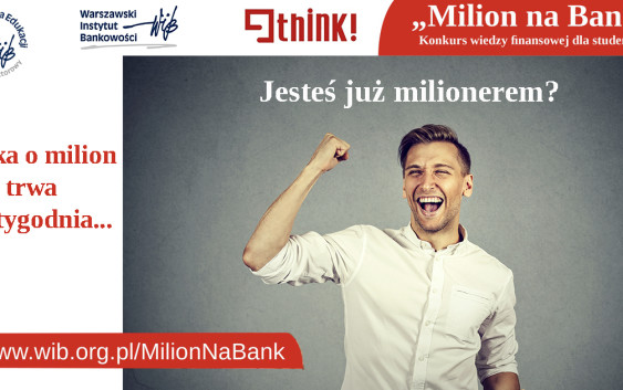 Milion na bank