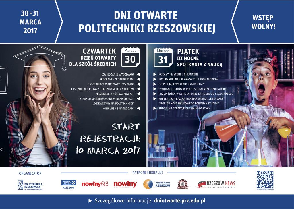 Plakat Dni Otwartych PRz - A3
