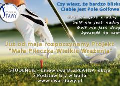 DLA STUDENTÓW – bezpłatna lekcja gry w golfa