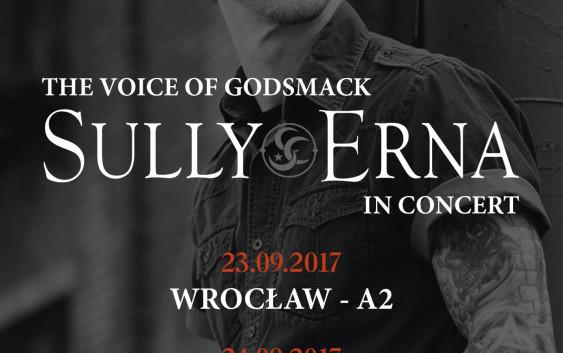 Sully Erna z Godsmack na koncertach w Polsce