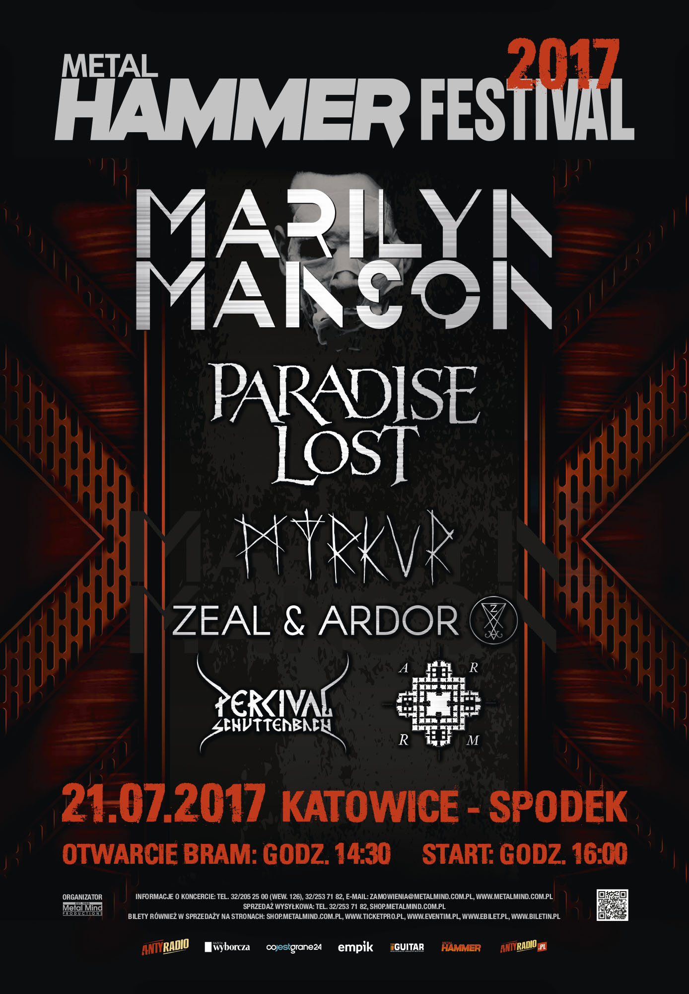 Metal Hammer Festival 2017 Akademickie Radio Centrum 890 Fm