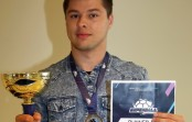 Konrad Dybaś srebrnym medalistą  Super Ball w Pradze