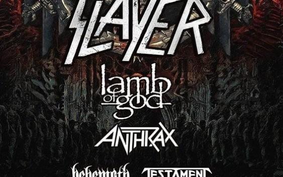 Slayer – ostatnia trasa koncertowa