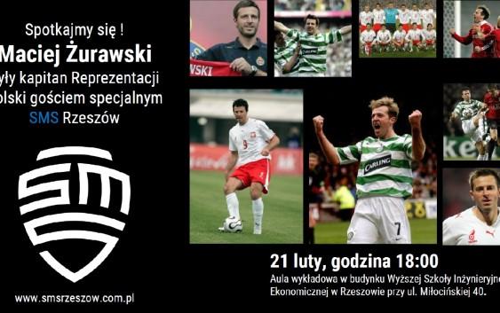 Maciej Żurawski w Rzeszowie