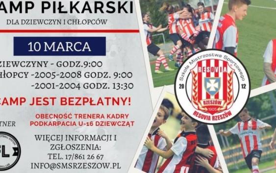 Camp piłkarski w Rzeszowie
