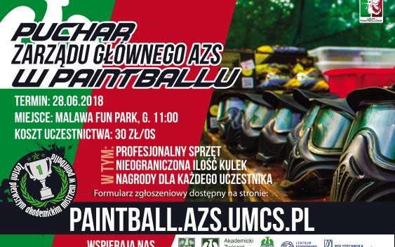 Puchar ZG AZS w Paintballu
