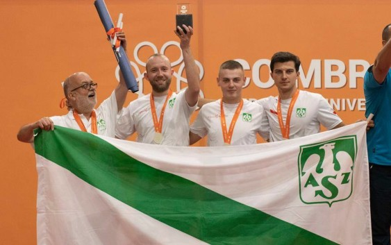 Wicemistrzostwo Europy dla tenisistów stołowych PRz