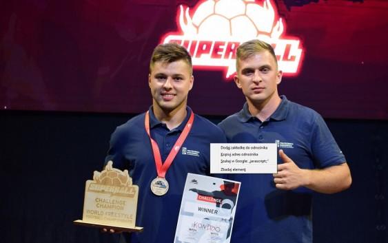 Konrad Dybaś Mistrzem Świata Freestyle Football'u