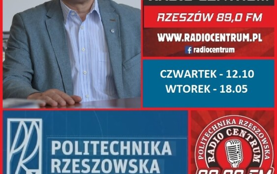 W Centrum PRz – Prof. Grzegorz Masłowski