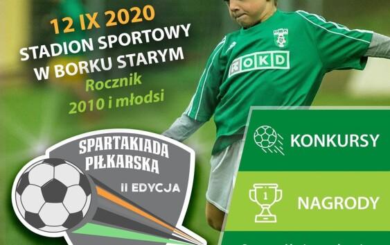 Spartakiada Piłkarska  2020 w Dolinie Strugu.