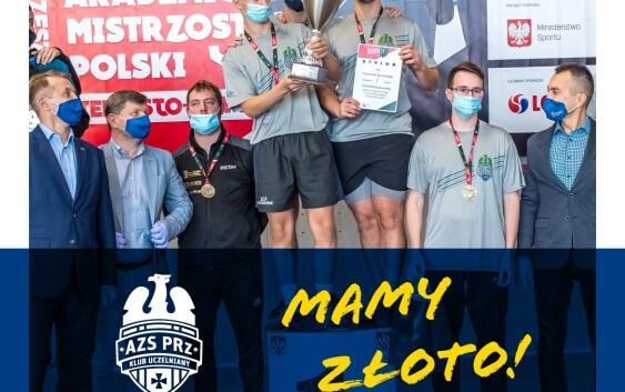 Złoto Mistrzostw Polski dla PRz