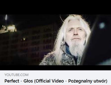 """Ostatni """"Głos"""" zespołu Perfect"""