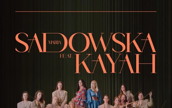Maria Sadowska i Kayah w duecie .