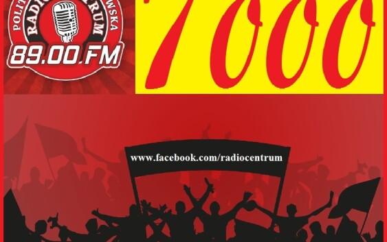 Fb Radio Centrum – 7000 POLUBIEŃ :-)