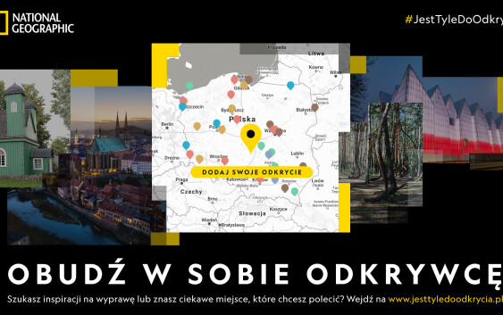 Skansen naftowy w Bóbrce na mapie National Geographic