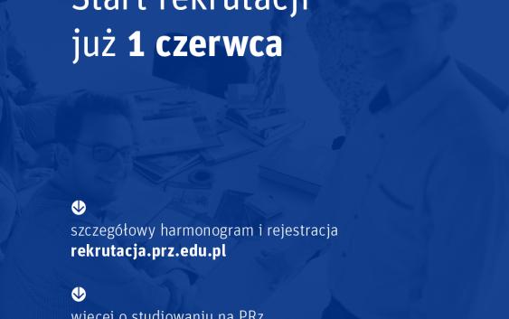 Rekrutacja na studia w PRz już od 1 czerwca