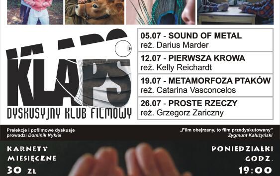 DKF KLAPS w WDK – lipcowe pokazy!