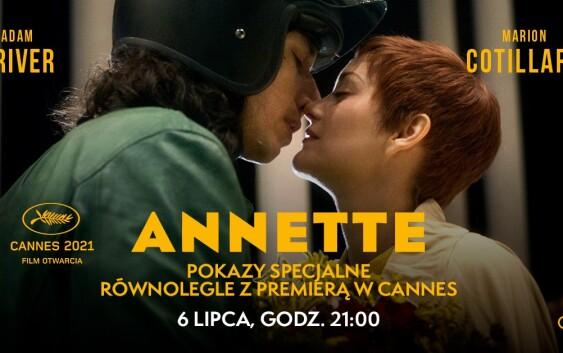 """Pokaz specjalny """"Annette"""" równolegle ze światową premierą w Cannes!"""